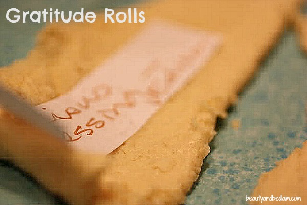 Gratitude rolls by www.beautyandbedlam Gratitude Rolls: Special Food Tradition