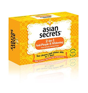 Asian Secrets 2-in-1 Anti-Pimple Soap Review