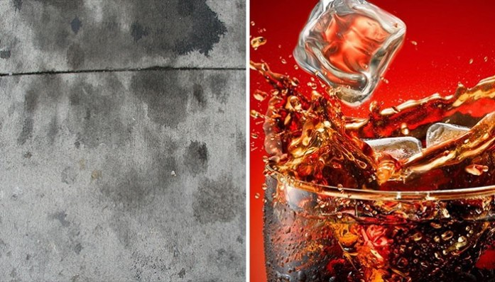 Cleaning hacks Coca Cola is considered great at restoring stained carpets, clothes, curtains