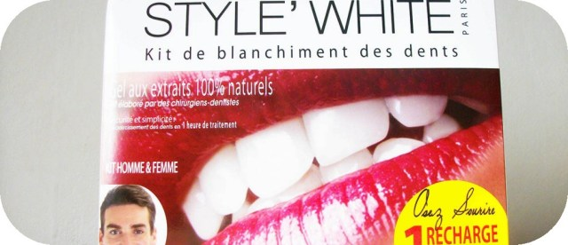 kit de blanchiment pour les dents style white beautyandclic