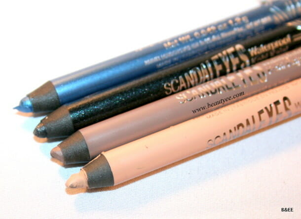 Rimmel London SCANDALEYES Waterproof Kohl Eyeliner Review