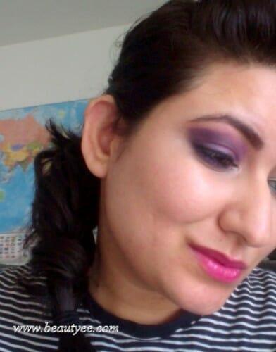 Purple smoky eye tutorial