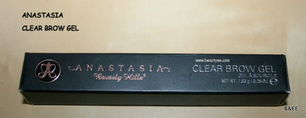 ANASTASIA Beverly Hills Clear Brow Gel review.