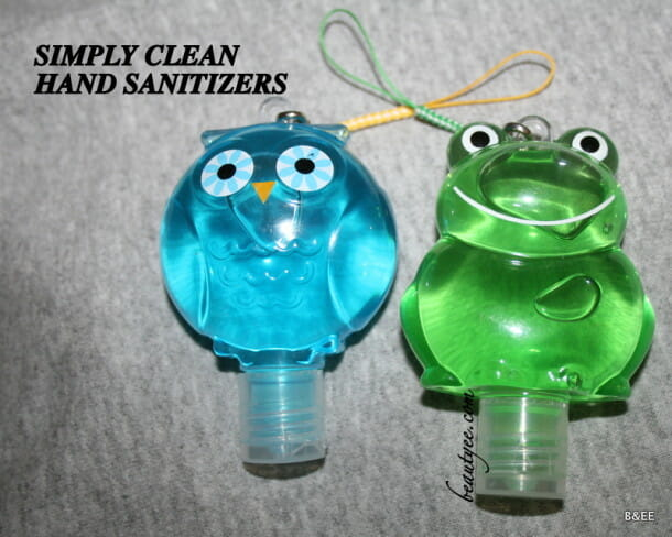 Simply Clean Hand Sanitizer Review!