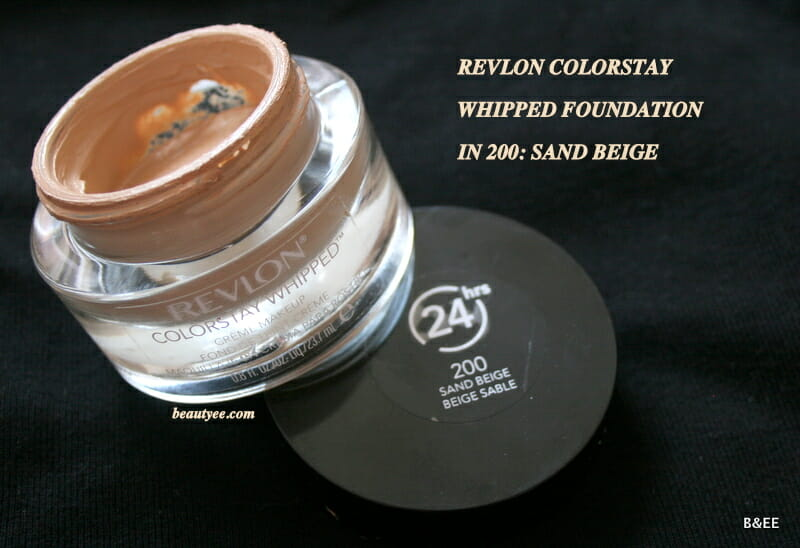 Revlon Colorstay Whipped Creme Makeup Review