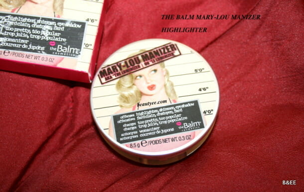 THE BALM MARY LOU-MANIZER REVIEW THE BALM MARY LOU-MANIZER REVIEW