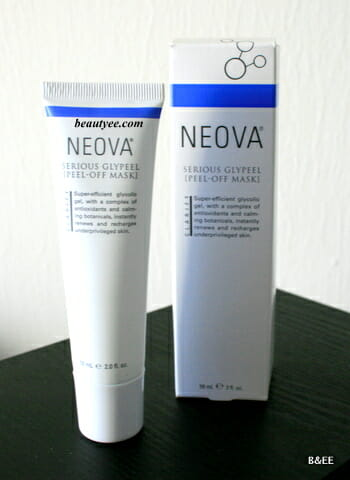 Neova Serious GlyPeel [Peel-Off Mask] review