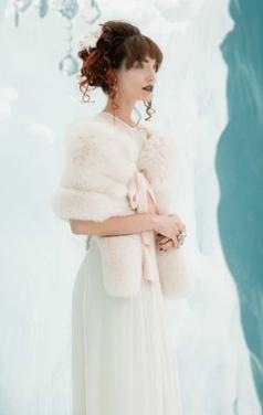 fur bride