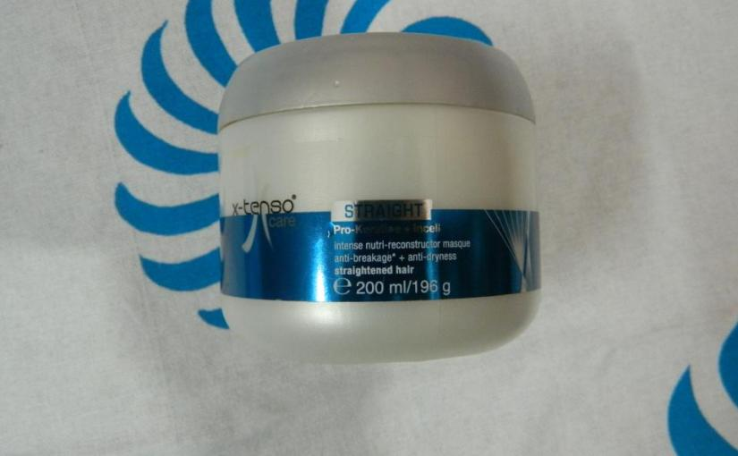 L'Oreal X-Tenso Care Straight Masque Review