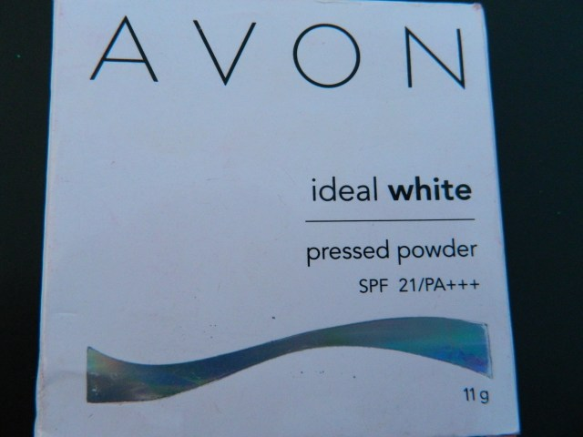 Avon Ideal White Pressed Powder