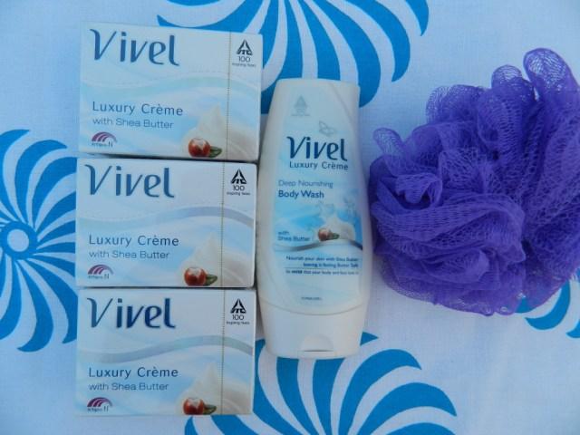 Vivel Luxury Creme Deep Nourishing Body Wash