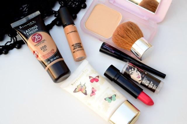 Minimal Makeup Look Products