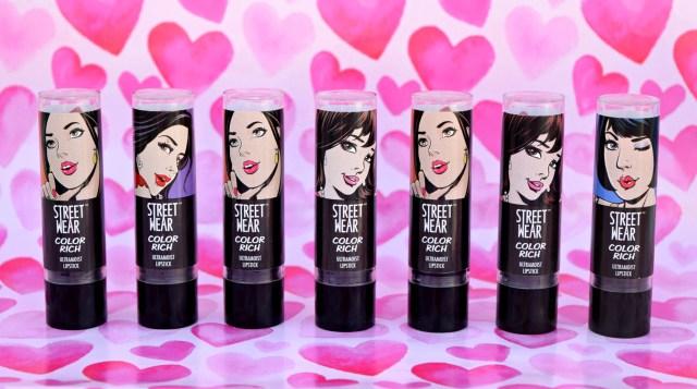 7 Streetwear Color Rich Ultra Moist Lipstick Swatches