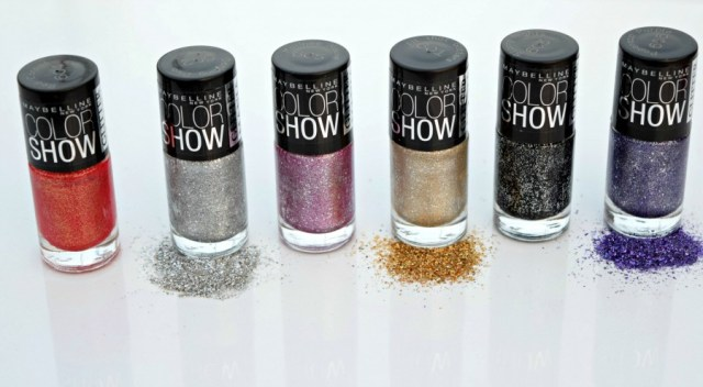 Maybelline Colorshow Glitter Mania Nail Paint