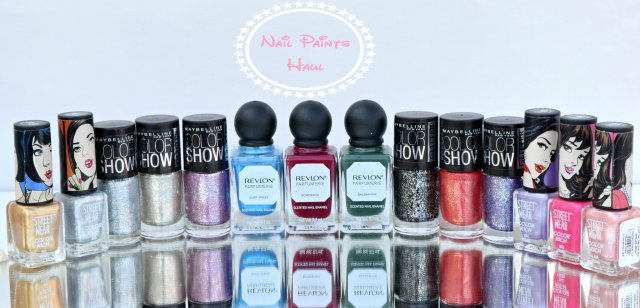 Nail Paints Haul