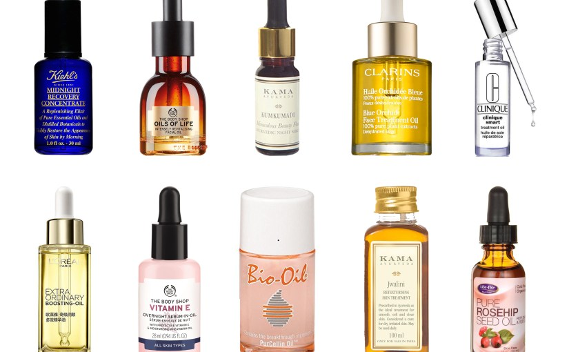 Best Facial Oils for All Skin Types in India!