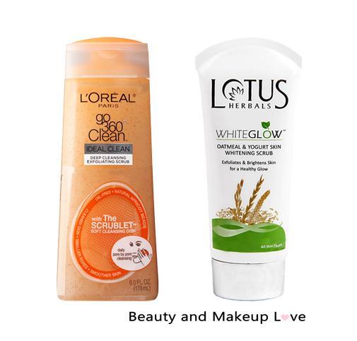 Best Face Scrubs for Oily Skin & Blackheads