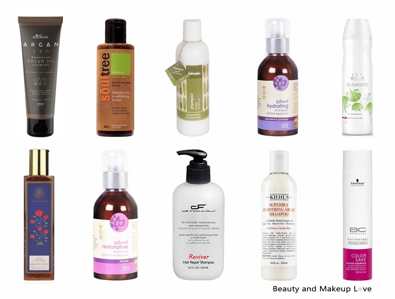 best sulphate free shampoo and conditioner in india