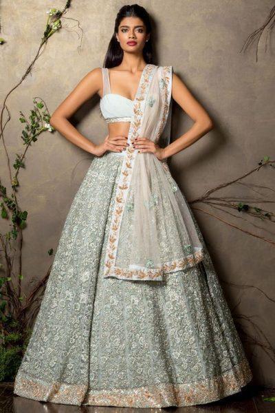 Ballroom Lehenga Designs for Brides