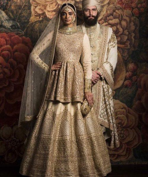 Peplum Style Bridal Lehenga