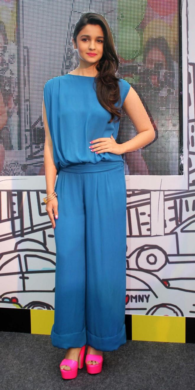 Alia Bhatt in Jumpsuit