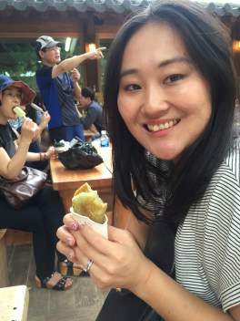 Hotteok on Nami Island
