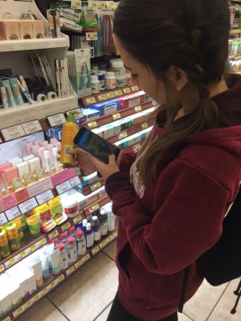 scanning cc at store