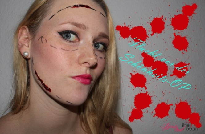 Beauty and the beam | Schönheits-OP Flucht [Halloween Look] 1