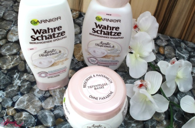 Garnier Wahre Schätze Sanfte Hafermilch [Review] | Beauty and the beam