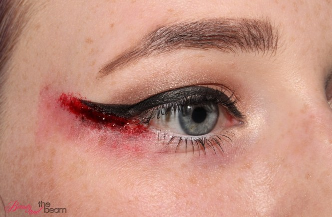 Blutiger Lidstrich [Halloween Make Up] | Beauty and the beam