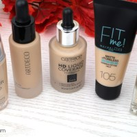XL Make Up Vergleich - 5 helle Foundations im Test!