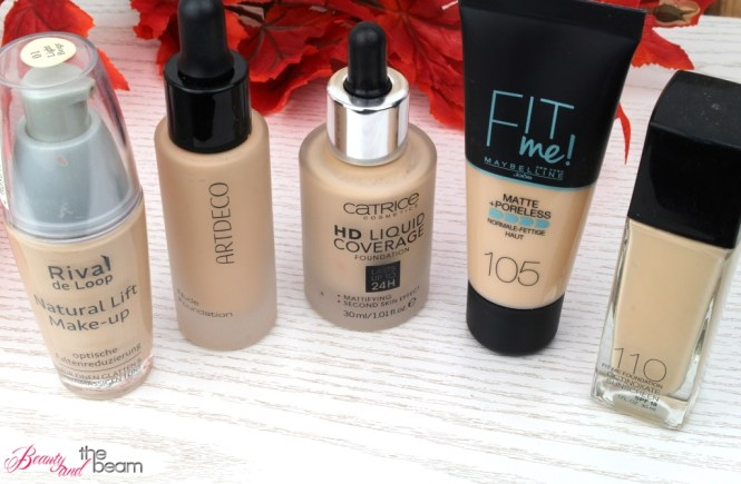 XL Make Up Vergleich - 5 helle Foundations im Test! | Beauty and the beam