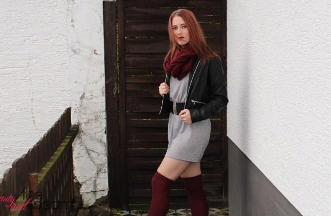 [Fashion] Schlichter Herbstlook mit Farbakzenten   Beauty and the beam