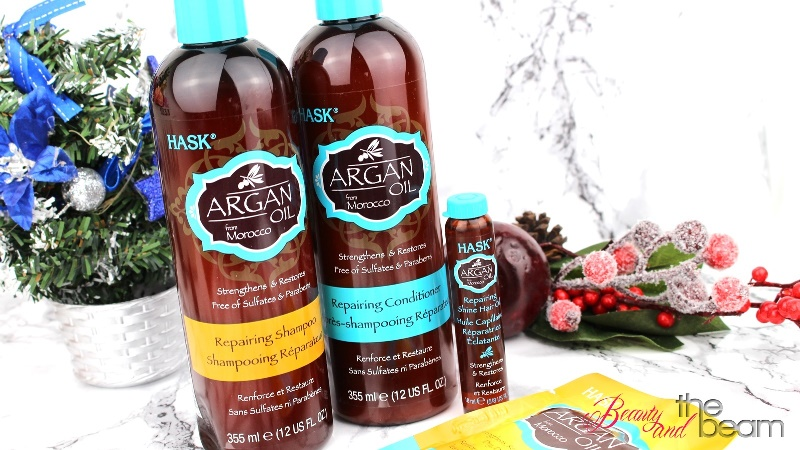 [Review] HASK Argan Oil Repairing Serie