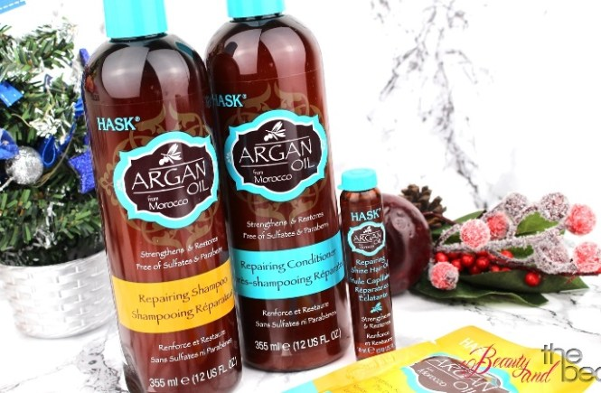 [Review] HASK Argan Oil Repairing Serie | Beauty and the beam