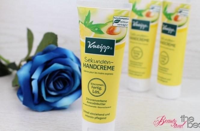 [Anzeige] Kneipp Sekunden-Handcreme  + Gewinnspiel | Beauty and the beam