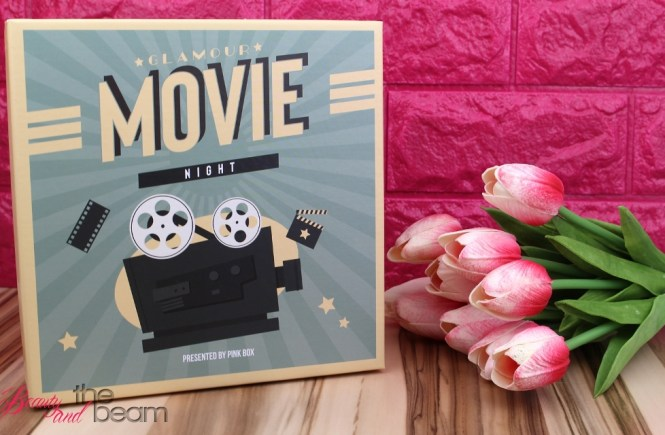 Unboxing Pink Box Glamour Movie Night Beauty And The Beam