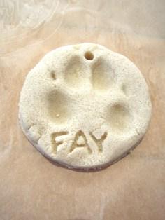 Fay's Paw Print