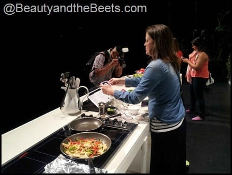 Beauty and the Beets Paula Deen event