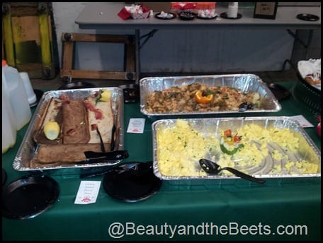 Backstage catering
