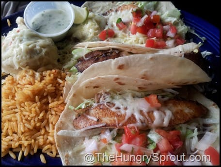 Don Pablos Fish Taco Trio