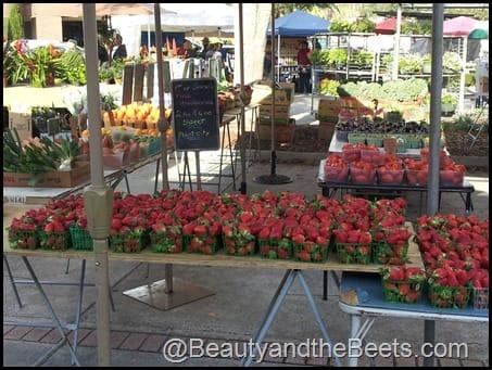 Winter Park Farmer's Market strawberries
