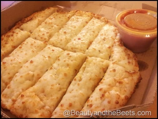 Bucks Pizza breadsticks
