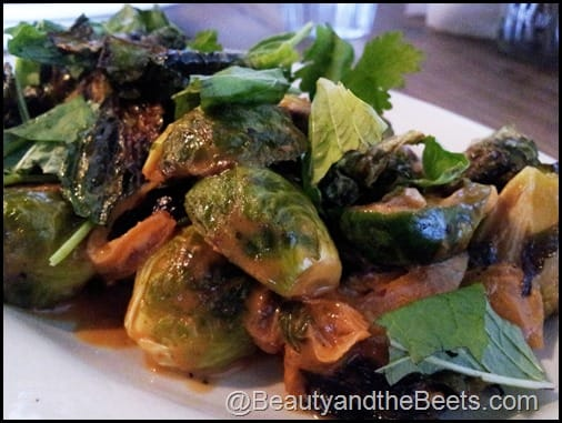 Curried Brussel