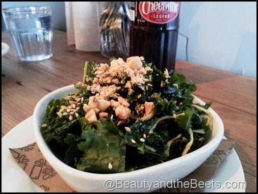Kale Salad with Peanut