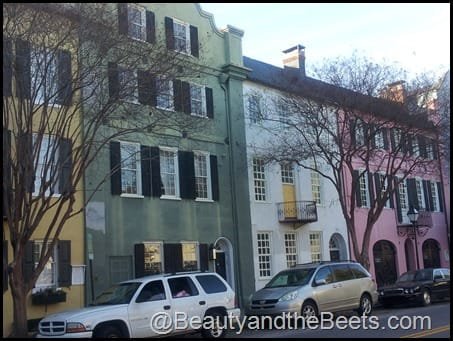 Pained Houses Charleston