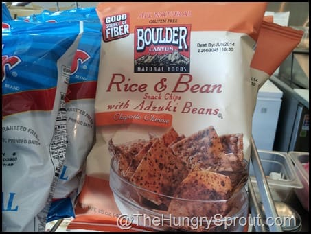 Rice and Bean Chips