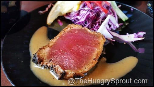 Seared Ahi Sashimi