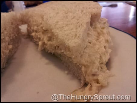 Tuna sandwich Dutch Cafe