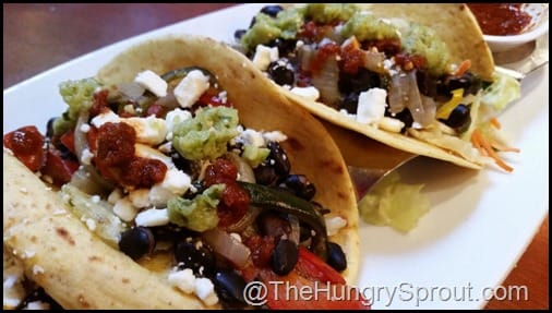 Black Bean and Roasted Red Pepper Taco Seasons 52 The Hungry Sprout